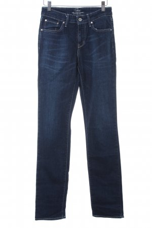 Levi's Slim jeans donkerblauw Jeans-look