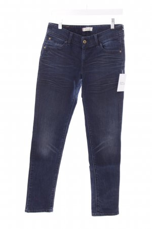Levi's Slim Jeans dunkelblau Washed-Optik
