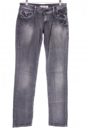 Levi's Slim Jeans dunkelgrau Washed-Optik