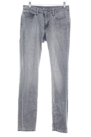 Levi's Jeans slim gris style décontracté