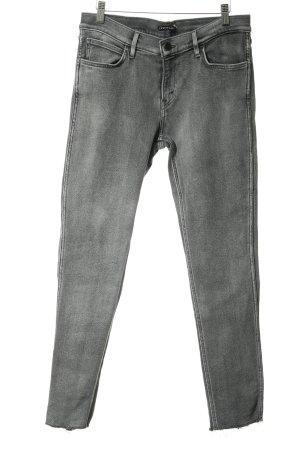 Levi's Slim Jeans hellgrau-grau Casual-Look