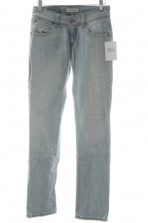 Levi's Slim Jeans himmelblau-hellgelb Casual-Look
