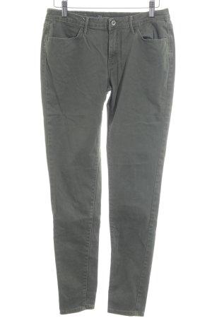 Levi's Slim Jeans khaki Street-Fashion-Look