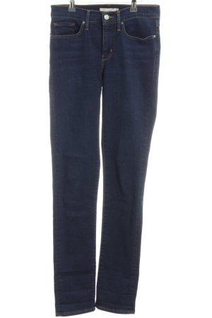 Levi's Jeans slim bleu fluo style décontracté