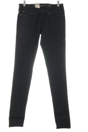 Levi's Slim Jeans schwarz klassischer Stil