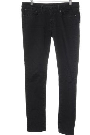 Levi's Jeans slim noir style mode des rues