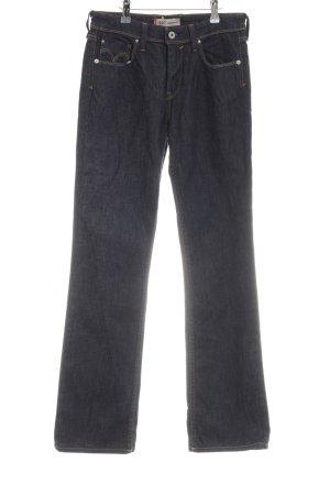 Levi's Straight-Leg Jeans schwarz schlichter Stil