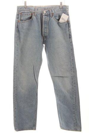 """Levi's Straight-Leg Jeans """"501"""" hellblau"""
