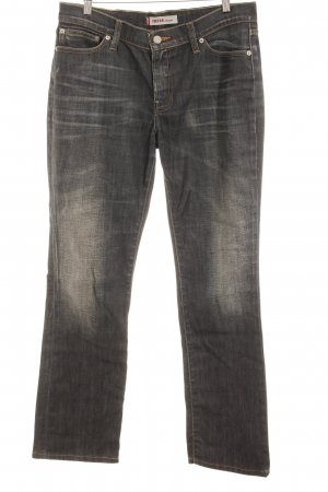 Levi's Straight-Leg Jeans anthrazit Casual-Look