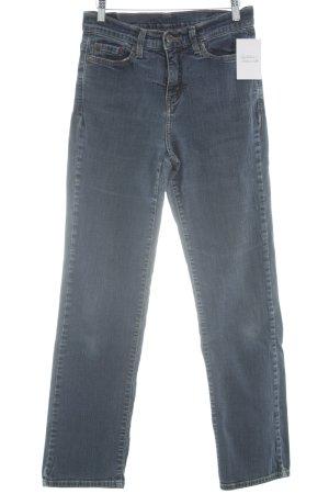Levi's Jeans coupe-droite bleu style décontracté