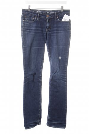 Levi's Straight-Leg Jeans blau Destroy-Optik