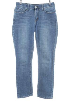 Levi's Jeans met rechte pijpen blauw straat-mode uitstraling