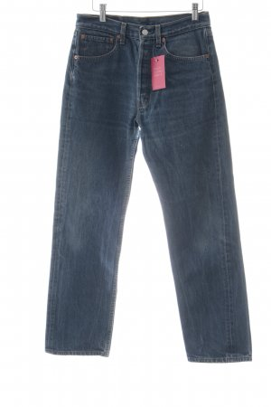 Levi's Straight-Leg Jeans blau Vintage-Artikel