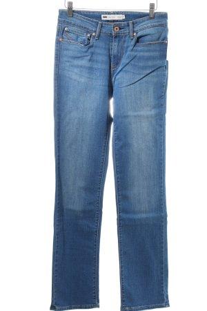 "Levi's Straight-Leg Jeans ""Demi Curve"" blau"