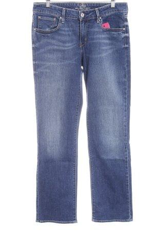 Levi's Straight-Leg Jeans dunkelblau Casual-Look
