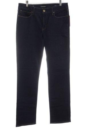 Levi's Jeans met rechte pijpen donkerblauw casual uitstraling