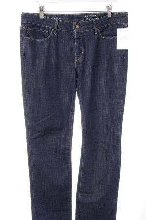 Levi's Jeans coupe-droite bleu foncé style décontracté