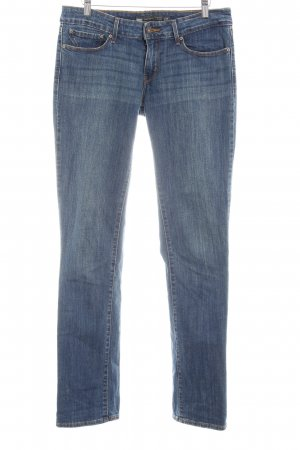 Levi's Straight-Leg Jeans dunkelblau-hellbeige Used-Optik