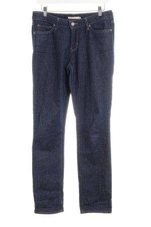 Levi's Jeans met rechte pijpen donkerblauw Jeans-look