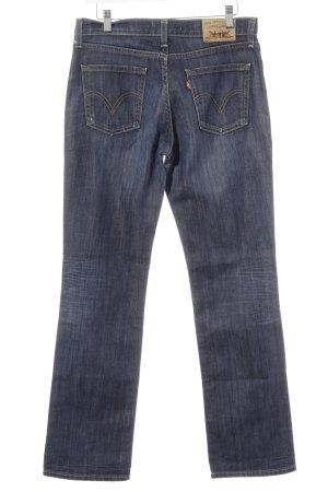 Levi's Straight-Leg Jeans dunkelblau Jeans-Optik