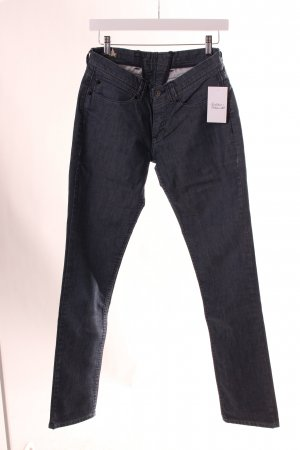 Levi's Straight-Leg Jeans dunkelblau meliert Casual-Look