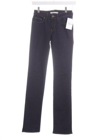 Levi's Straight-Leg Jeans dunkelblau schlichter Stil