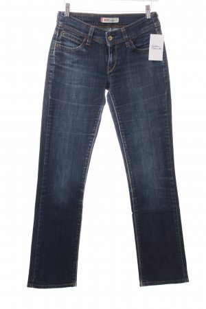 Levi's Straight-Leg Jeans dunkelblau Street-Fashion-Look