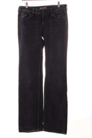 Levi's Straight-Leg Jeans dunkelblau Washed-Optik