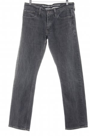 Levi's Straight-Leg Jeans grau College-Look