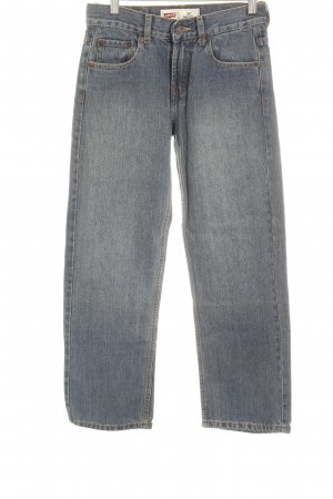 Levi's Straight-Leg Jeans graublau Casual-Look