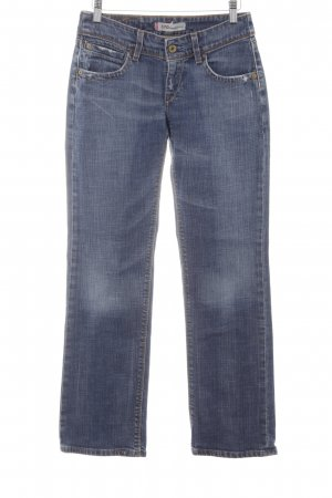 Levi's Straight-Leg Jeans graublau meliert Casual-Look