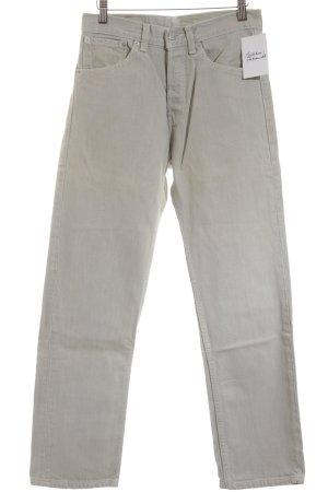 Levi's Straight-Leg Jeans graugrün Casual-Look