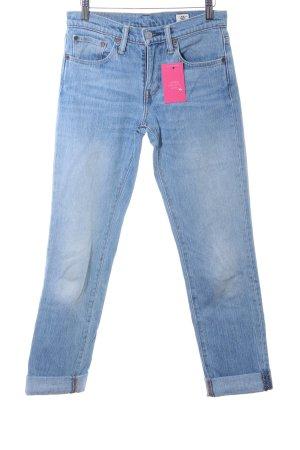Levi's Straight-Leg Jeans hellblau Bleached-Optik
