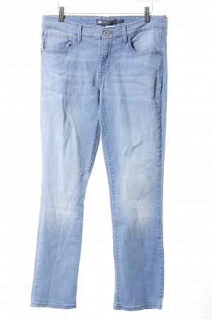 Levi's Straight-Leg Jeans hellblau-wollweiß Washed-Optik