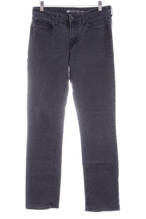 Levi's Jeans met rechte pijpen zwart casual uitstraling
