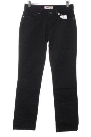 Levi's Jeans a gamba dritta nero stile casual