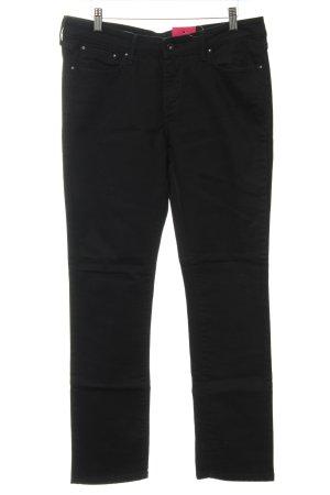 Levi's Jeans coupe-droite noir Aspect de jeans