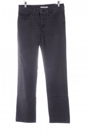 "Levi's Straight-Leg Jeans ""Shaping Straight"" schwarz"