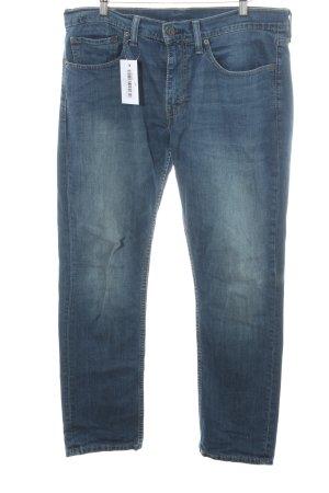 Levi's Jeans a gamba dritta blu acciaio stile boyfriend