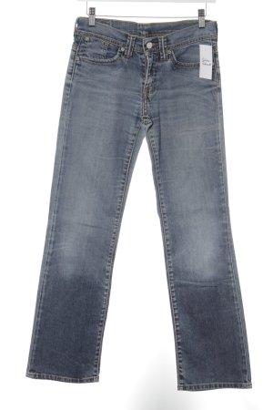 Levi's Straight-Leg Jeans stahlblau Casual-Look