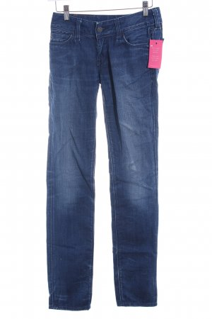 Levi's Straight-Leg Jeans stahlblau-dunkelblau Casual-Look
