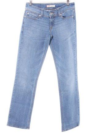 Levi's Straight-Leg Jeans stahlblau-graublau Casual-Look
