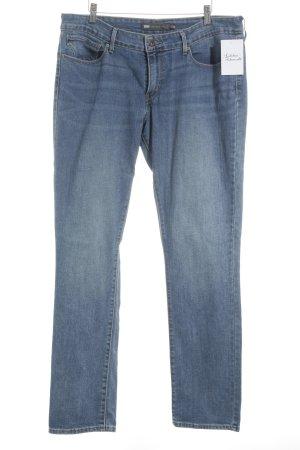 Levi's Jeans coupe-droite bleu acier style simple