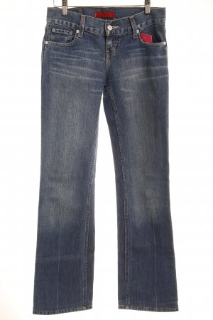 Levi's Straight-Leg Jeans stahlblau Washed-Optik