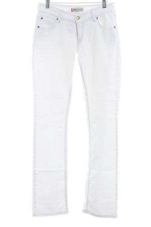 Levi's Straight-Leg Jeans weiß Beach-Look
