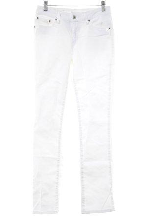 Levi's Straight-Leg Jeans weiß klassischer Stil