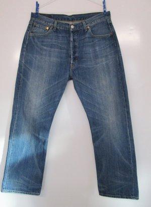 Levi's Jeans coupe-droite multicolore coton
