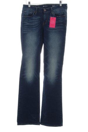 Levi's Jeans stretch bleu foncé Look de motard