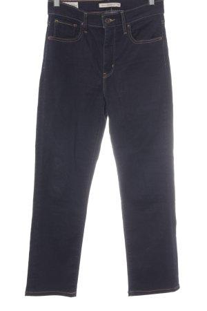 Levi's Stretch Jeans dark blue casual look