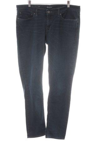 Levi's Stretch Jeans dunkelblau Casual-Look